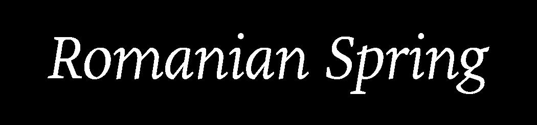Romanian Spring Logo